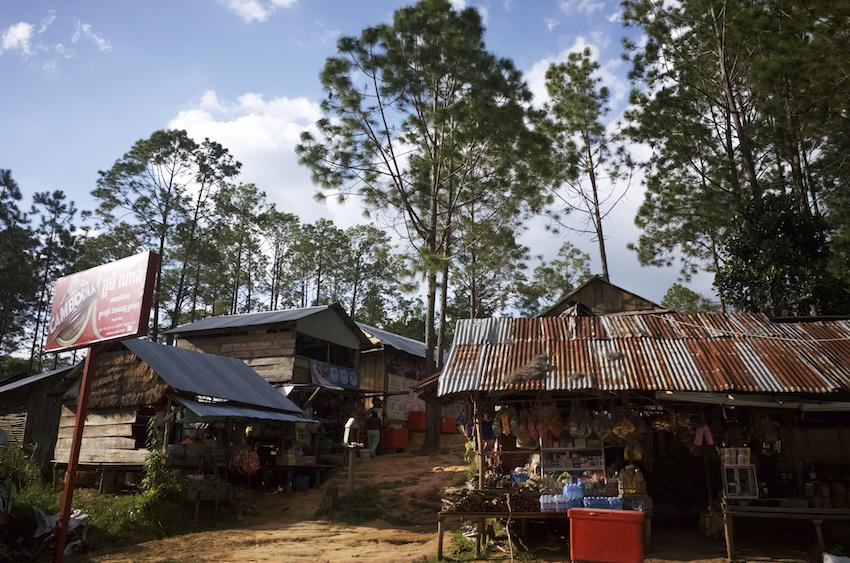 カンボジアの村
