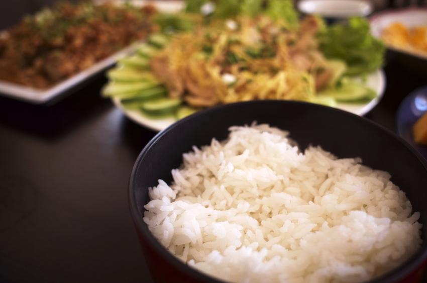 カンボジアのお米