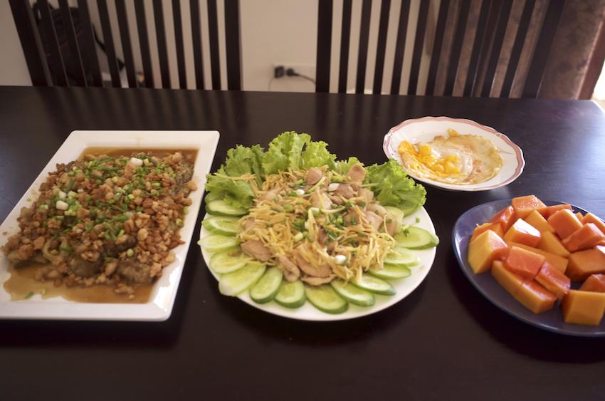 カンボジア家庭料理